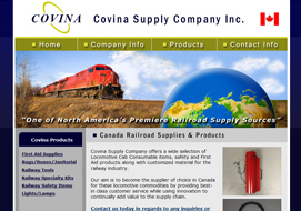 covina railroad supply