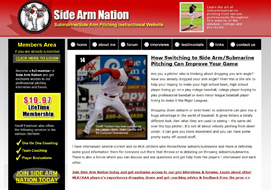 side arm nation